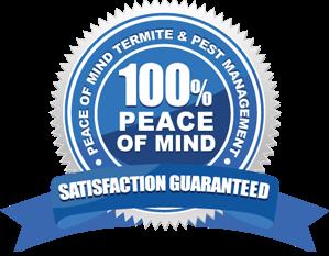 Pest Control - Tweed Heads - Peace Of Mind Badge